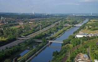 Flusslandschaft 2010/11: Emscher